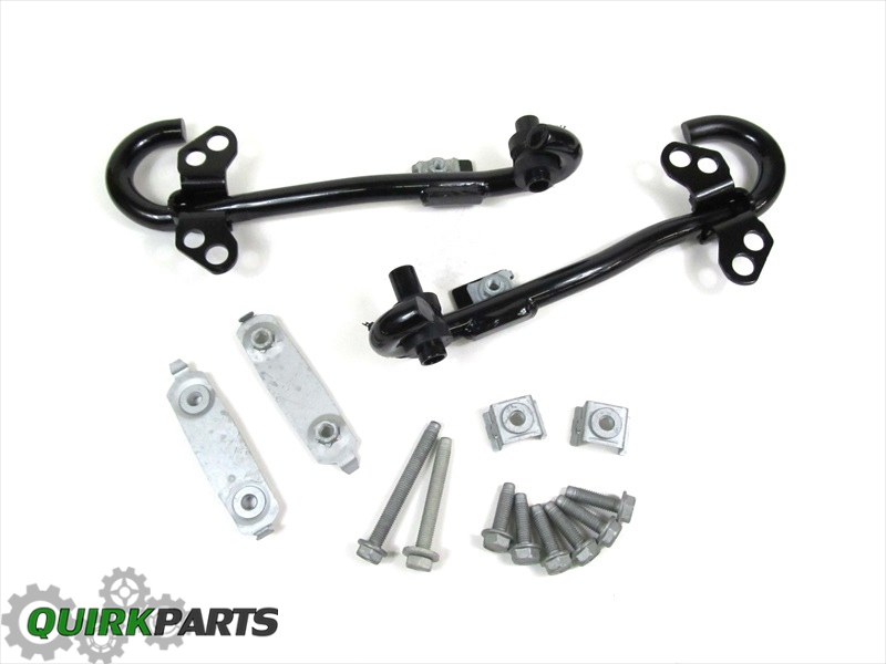2011-2016 Jeep Patriot SET OF 2 FRONT TOW HOOKS LEFT