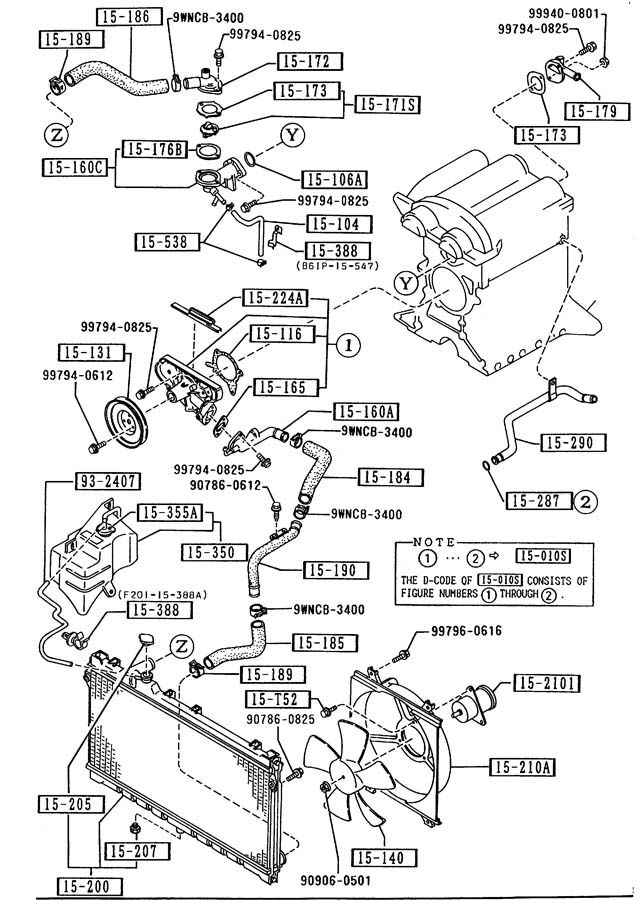 1993 Mazda Mx3 Engine Diagram 1994 Mazda Miata Engine