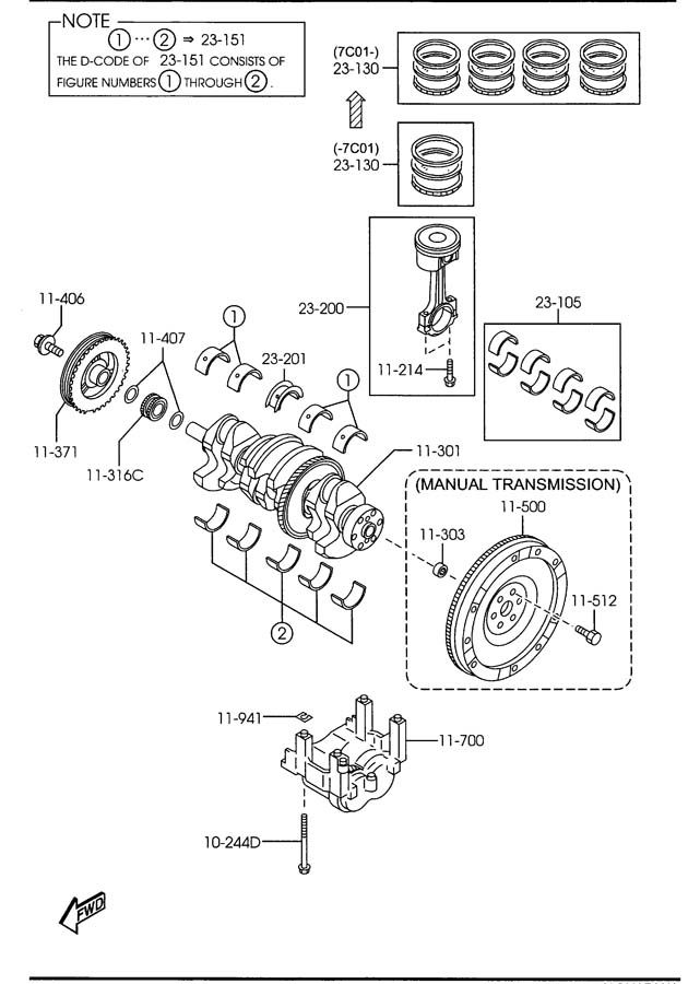Service manual [How To Remove Crankshaft Pulley 2007 Mazda