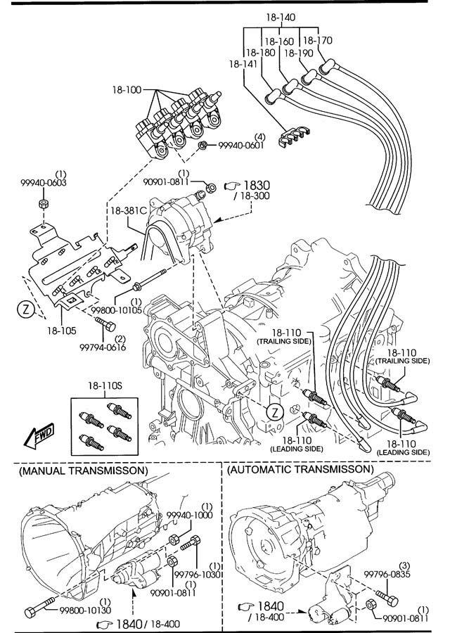 2004 2005 2006 2007 2008 2009 2010 2011 Mazda RX-8 Spark