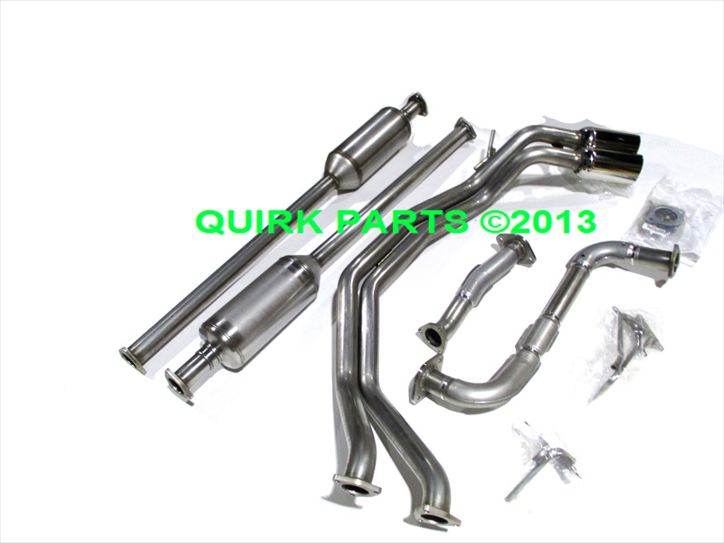2004-2013 Nissan Titan Nismo Cat Back Dual Exhaust System