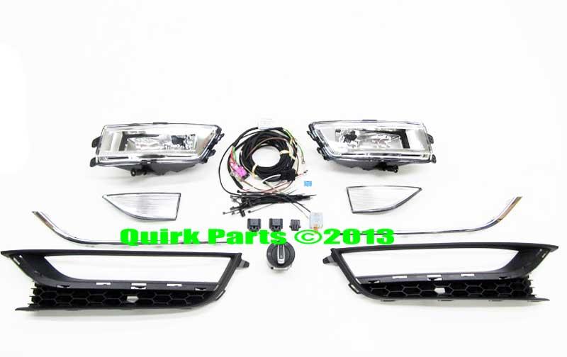 2012-2015 VW Volkswagen Passat NAR Fog Lamp Lights Kit