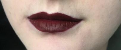 Carnivorous liquid lipstick by Mac