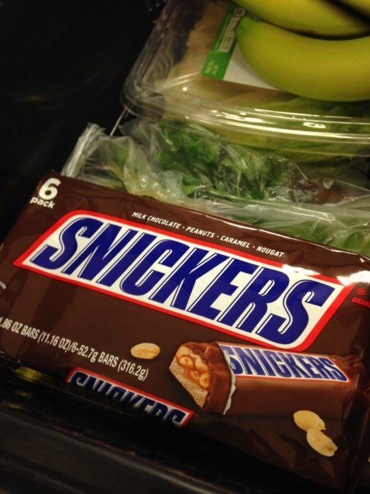 Snickers diet