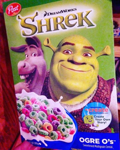 Shrek Ogre O's from Post Cereals