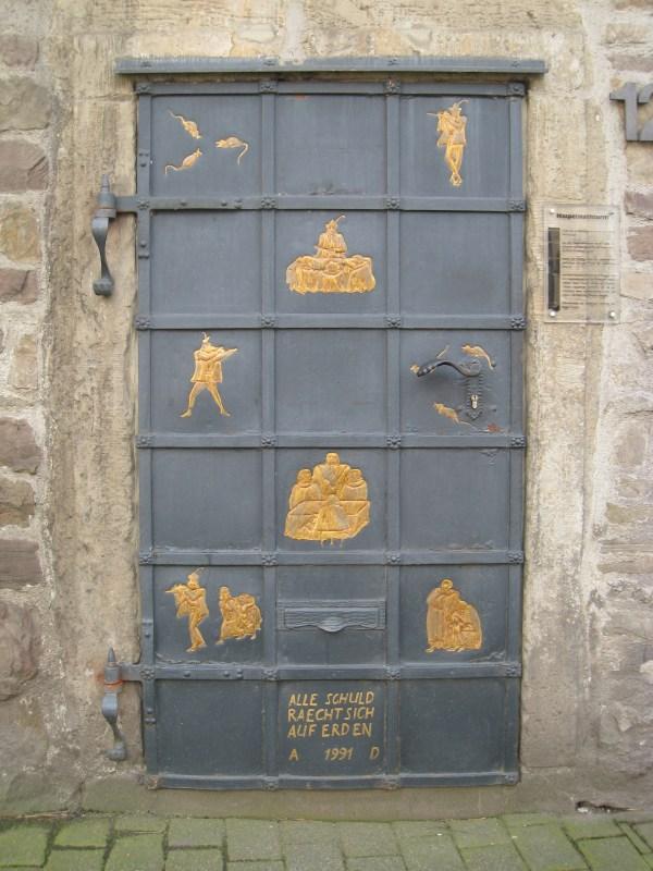 Art Door Uncertainty Happiness