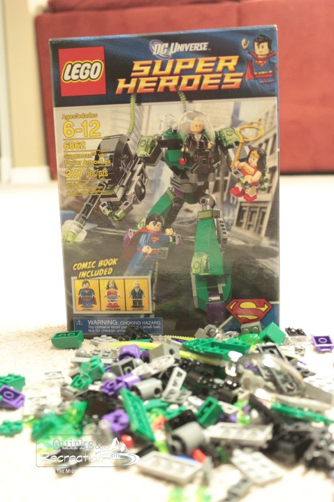LEGO Super Heroes Superman vs. Power Armor Lex (Set 6862) - LEGO advent calendar