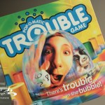 Trouble game - board games