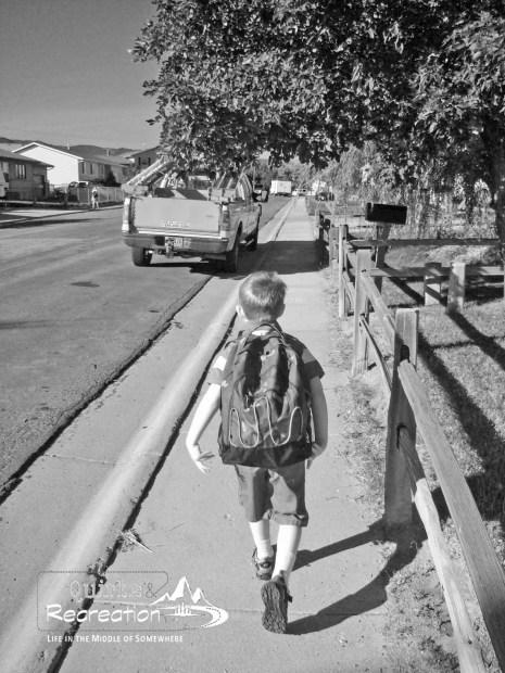 First Day Kindergarten
