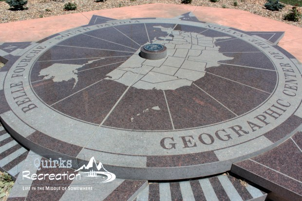 Geographic Center of the Nation Monument in Belle Fourche, South Dakota