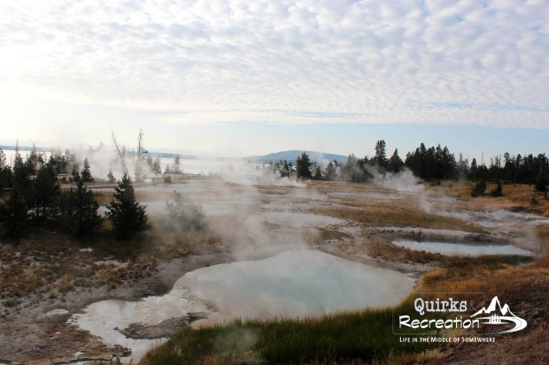 West Thumb Geyser in Yellowstone National Park