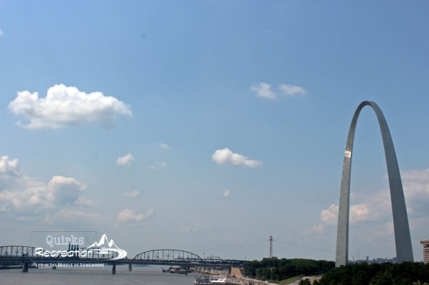 Mississippi River with Gateway Arch