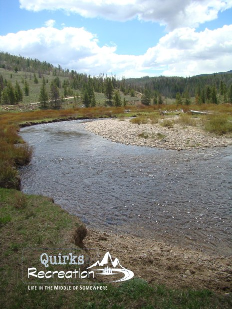 Wyoming mountain stream