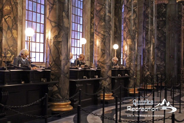 inside Escape from Gringotts ride Universal Studios