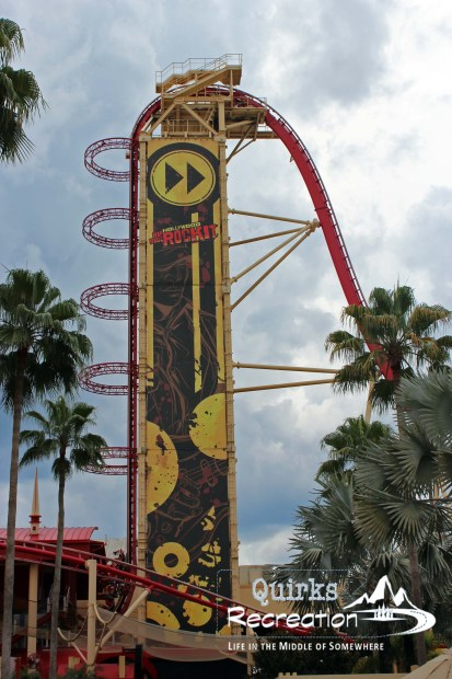 view of Rip Ride Rockit Universal Studios