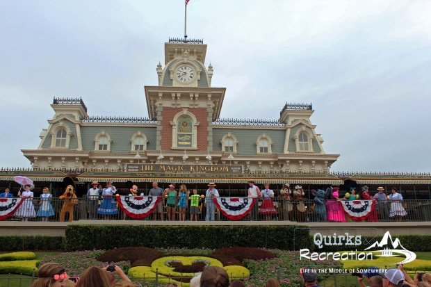 Magic Kingdom park opening Disney World