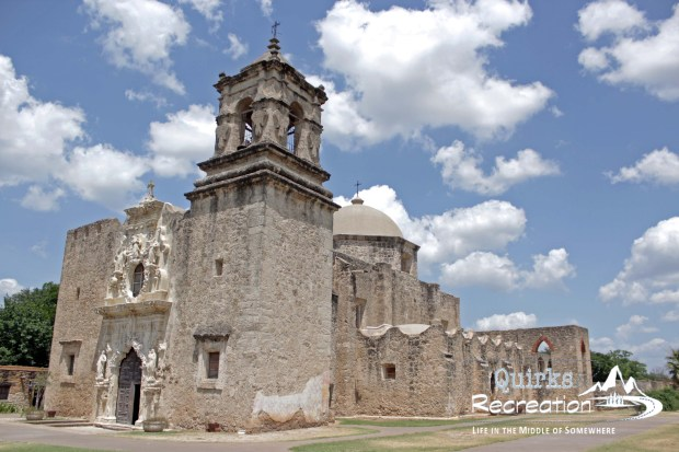 cathedral in San Antonio Missions National Historic Park