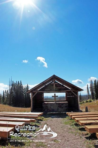 St. Alban's Chapel Snowy Range Wyoming