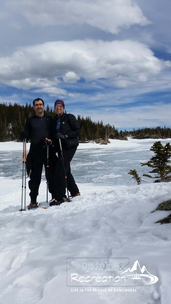 Couple at The Loch in Rocky Mountain National Park