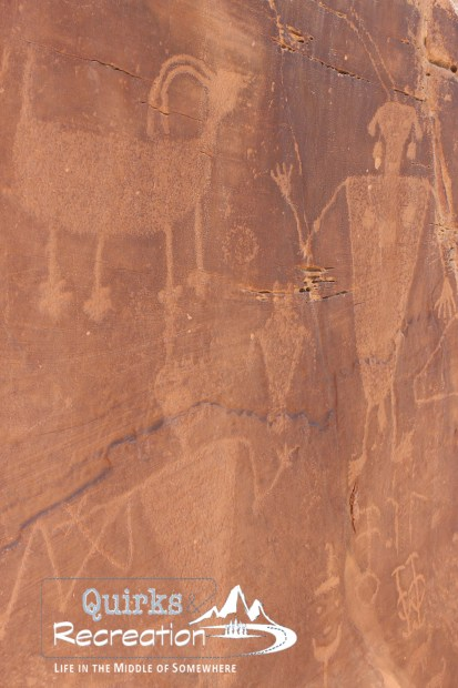 petroglyphs at Dinosaur National Monument