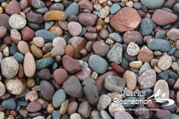Rocky shore of Lake Superior