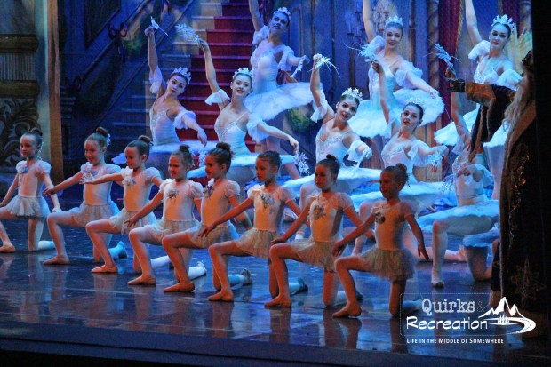 Snowflakes in the Great Russian Nutcracker