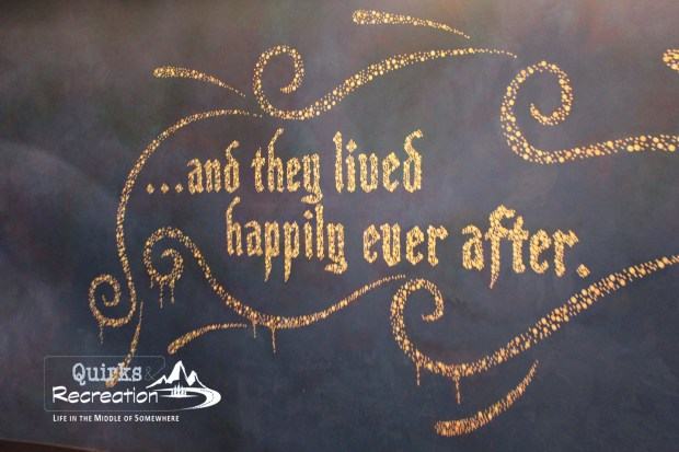happily ever after sign Disneyland