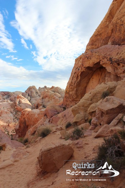 White Dome hiking trail - Valley of Fire State Park