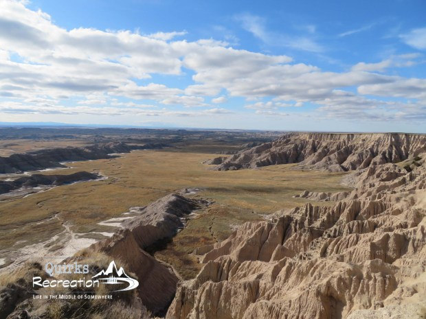 View from Sheep Mountain Table Road in Badlands National Park