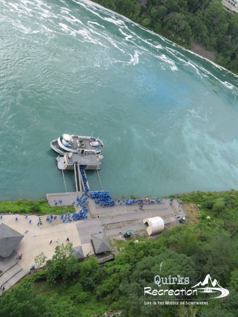 overlook of Maid of the Mist
