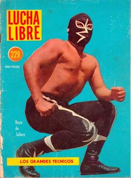 Quirky Berkeley  Gabbys Lucha Libre Magazines