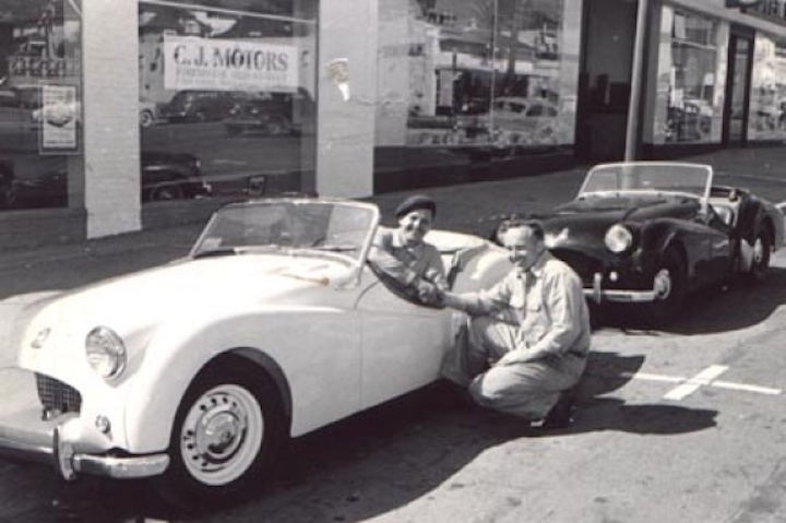 CJ with cars