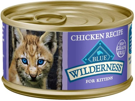 new kitten food blue