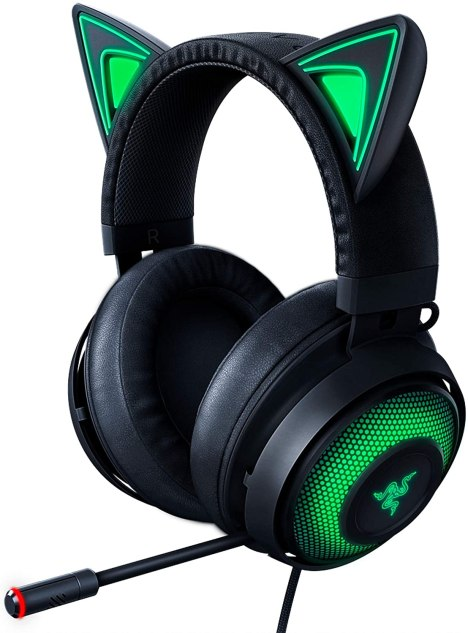 best cat lovers gift razer kraker kitty ears
