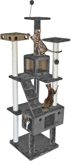 tall cat tower tree for scratching post