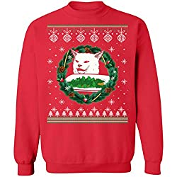 smudge ugly christmas sweater