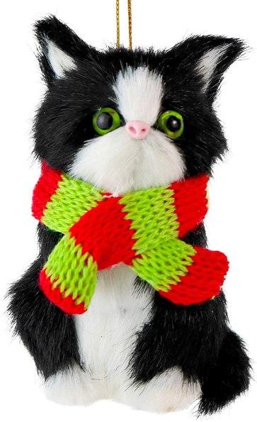 tuxedo cat christmas tree ornament