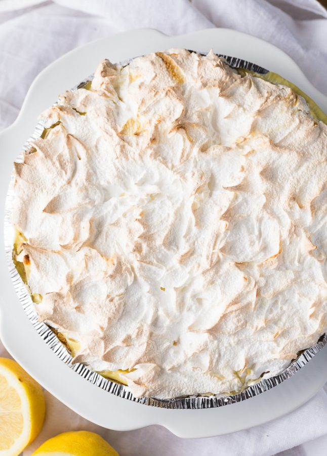 This Lemon Meringue Pie Recipe is one of my favorite homemade pie recipes of all time! It's full of flavor and perfect for any ocassion.