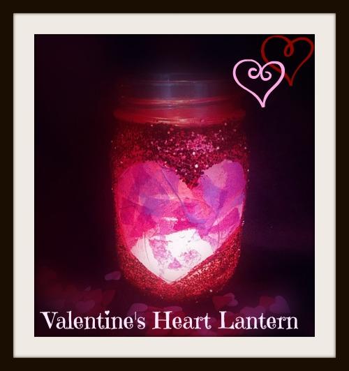Valentine's heart lantern