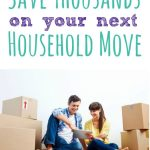 Check out these 10 ways to save money moving and you can save thousands