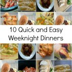Easy Weeknight Dinners