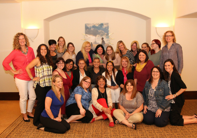 25 Lucky Mom Bloggers had a chance to interview George Clooney for the Tomorrowland Press Junket