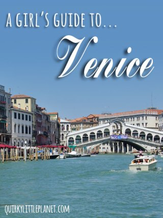 A girl's guide to Venice