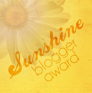 The Sunshine Blogger Award