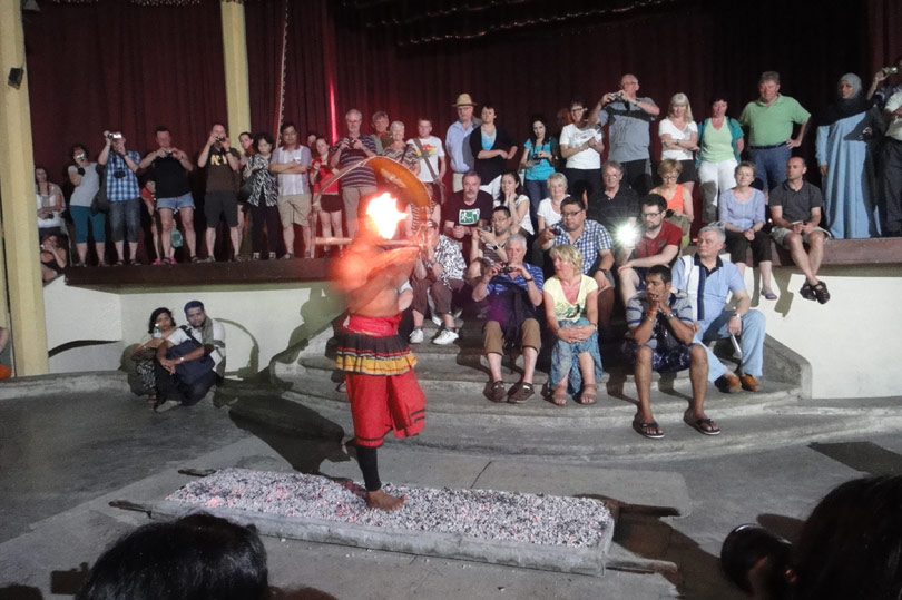 Walking on hot coals in Kandy