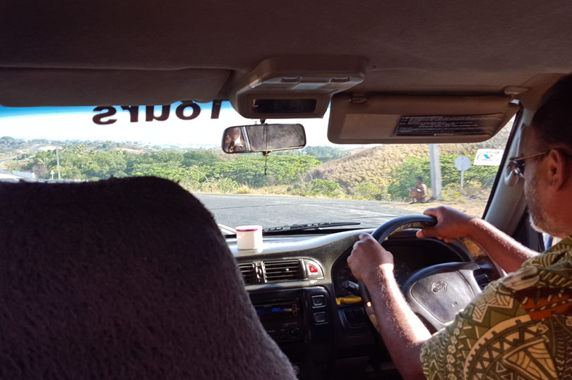 Driving Fiji