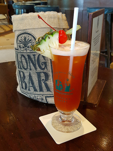 Sip a Singapore Sling at the Raffles Hotel