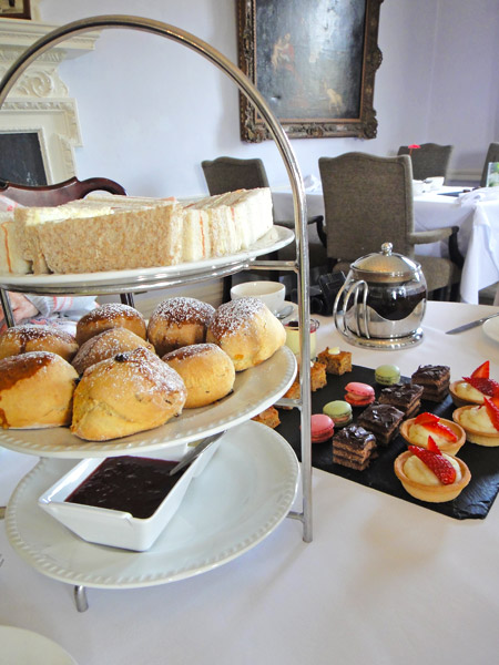 Enjoy a delicious afternoon tea at a classic Kent country house