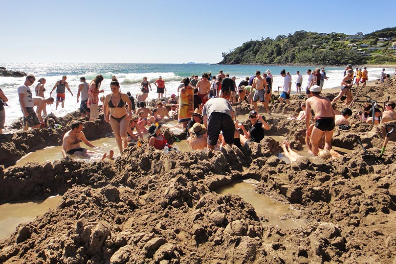 Hot Water Beach - tourist trap or must do?