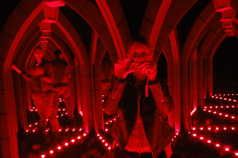 Mirror Maze at Ripley's London